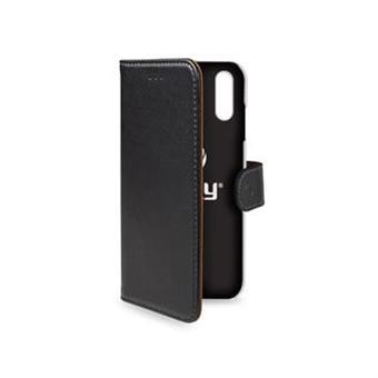 Pouzdro typu kniha Wallet iPhone XR, černé