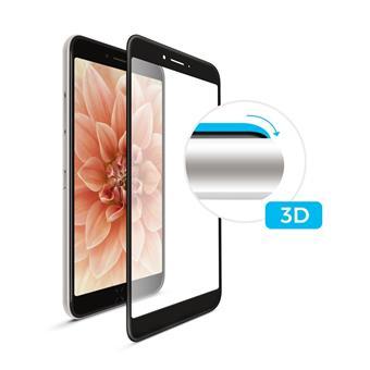 3D sklo FIXED iPhone 7/8, plné lepení, černé