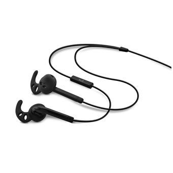 Sportovní sluchátka s mik. FIXED EGG3, IPX3, černá