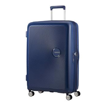 American Tourister Soundbox Spinner  Exp. 77 Navy