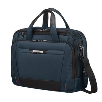 "Samsonite Pro DLX 5 LAPT. BAILHANDLE  15.6"" EXP Blue"