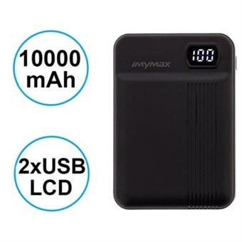 MyMAx MP11 PowerBank 10000mAh vč. LCD Type C/microUSB Black