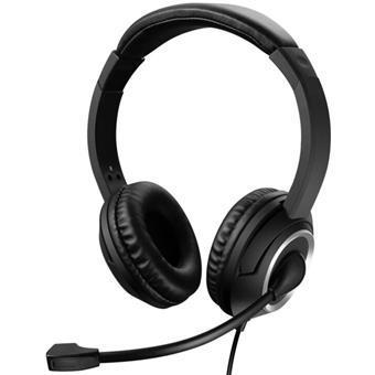 Sandberg PC sluchátka USB Chat Headset s mikrofonem, černá