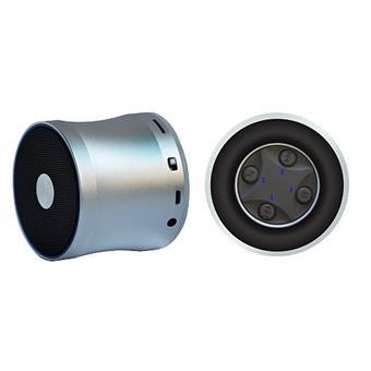 Wodasound ® REACTOR MY06E, laděný Exclusive Sport SuperBass Bluetooth reproduktor + MP3, silver