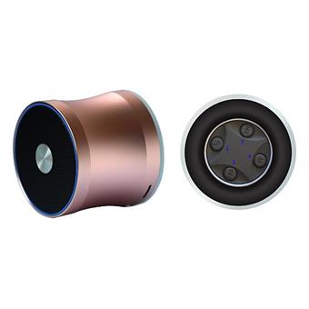Wodasound ® REACTOR MY06E, laděný Exclusive Sport SuperBass Bluetooth reproduktor + MP3, gold