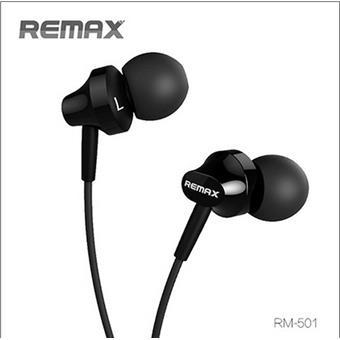 Remax sluchátka - černé