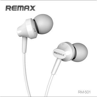 Remax sluchátka - bílé