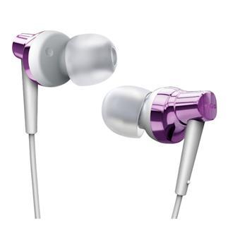 Remax sluchátka-RM 575 pure - barva bílo fialová