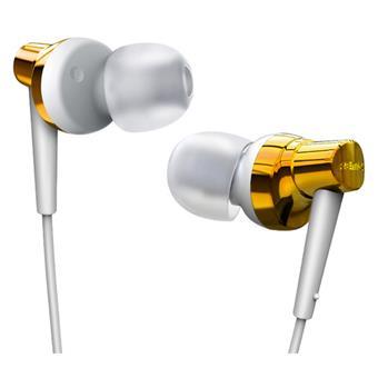 Remax sluchátka-RM 575 pure - barva bílo zlatá