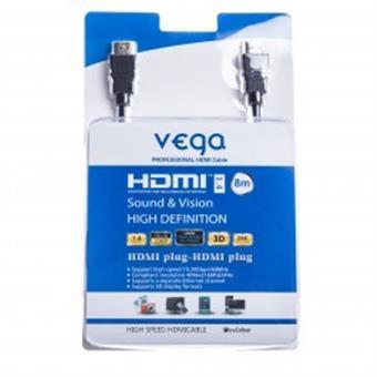 HDMI kabel profesionál 8M - černá barva