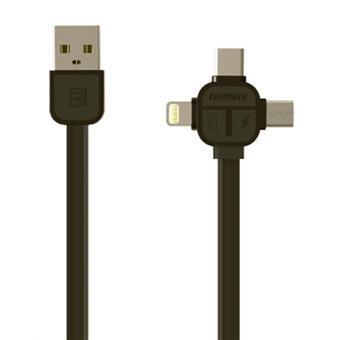 REMAX RC-066th datový kabel 3v1,černý