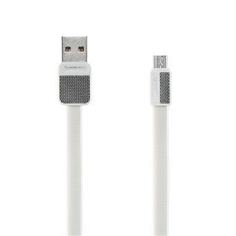 Remax RC-044m Platinum datový kabel, typ micro USB, bílý