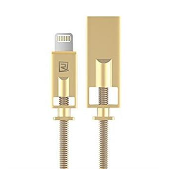 Remax RC-056i Roayalty datový kabel lightning, zlatý