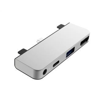 HyperDrive 4-in-1 USB-C Hub pro iPad Pro - Silver