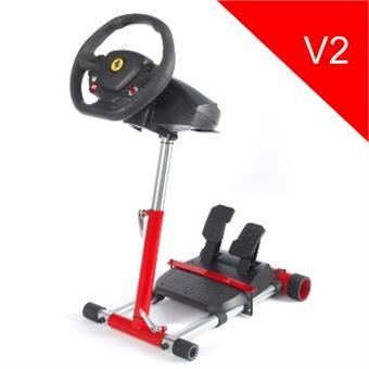 Wheel Stand Pro, stojan na volant a pedály pro Thrustmaster SPIDER, T80/T100,T150,F458/F430, červený