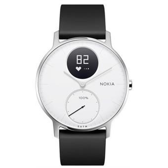 Nokia Steel HR 36mm - černá/bílá