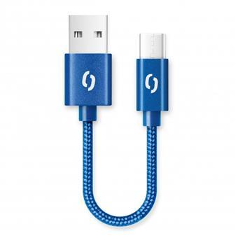 ALIGATOR PREMIUM 2A kabel, 50cm USB-C, modrá