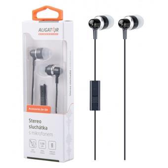ALIGATOR HF/sluchátka AE01 High Standard, černá