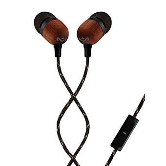MARLEY Smile Jamaica - Signature Black, sluchátka do uší s ovladačem a mikrofonem