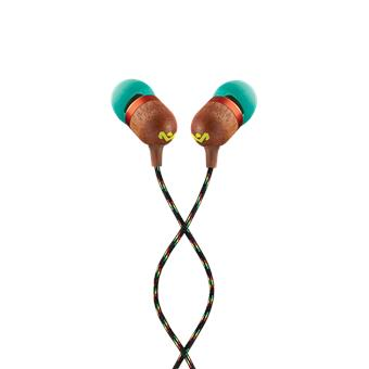 MARLEY Smile Jamaica Wireless 2 - Rasta, bezdrátová sluchátka do uší s mikrofonem