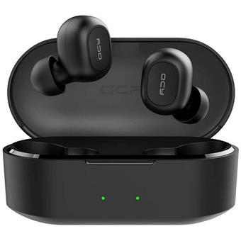 QCY - T2C, zcela bezdrátová špuntová sluchátka s dobíjecím uzavíratelným boxem