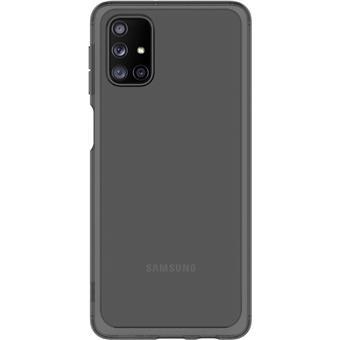 Samsung Průhledný zadní kryt pro M31s Black