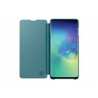 Samsung Clear View Cover S10 Green