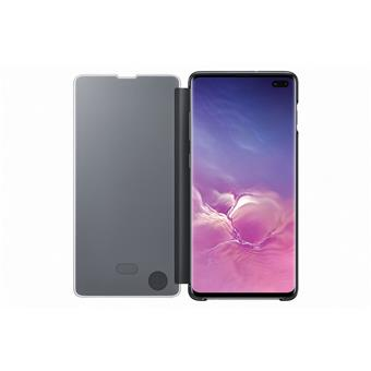 Samsung Clear View Cover S10+ Black