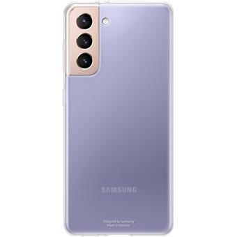 Samsung Průhledný zadní kryt pro S21 Transparent