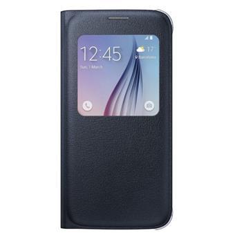 Samsung flipové pouzdro S-view EF-CG920P pro Samsung Galaxy S6 (SM-G920F), Černá