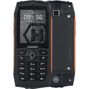 TELEFON myPhone HAMMER 3 ORANŽOVÝ
