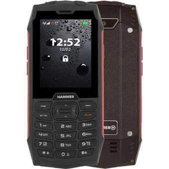 Telefon myPhone Hammer 4 červený