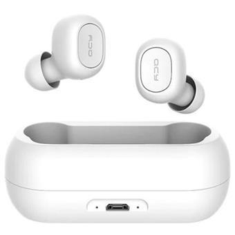 QCY T1C - bezdrátová BT sluchátka White