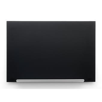 Skleněná tabule Diamond glass 126x71,1 cm, black