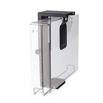 NewStar držák na PC pod stůl výška 20-36 cm, šířka 5-10 cm, 10 kg, černý