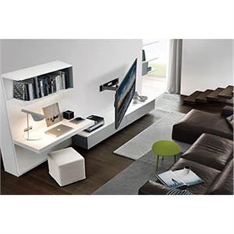 """NewStar nástěnný,otočný držák na obrazovky 32-75"""", 50 kg, VESA 75x75 až 600x400 mm, černý"""