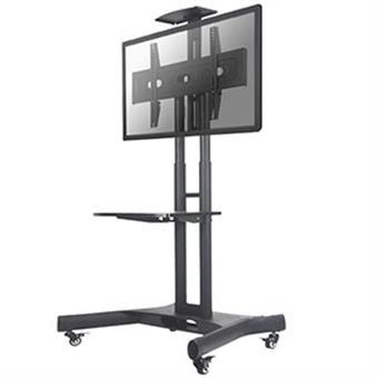 """NewStar mobilní stojan na obrazovku 32-75"""", 45kg, VESA 200x200 až 600x400 mm, černý"""