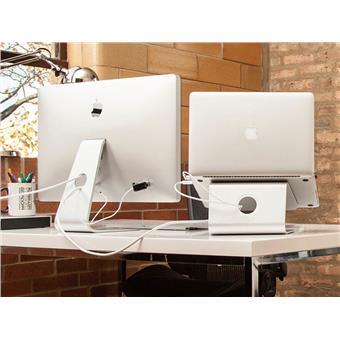 """NewStar držák na notebook otočný o 360,ergonomický, 10-17"""", stříbrný"""