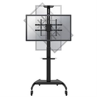 """NewStar mobilní stojan pro obrazovky 37-70"""", 50 kg, VESA 200x200 až 600x400 mm, černý"""