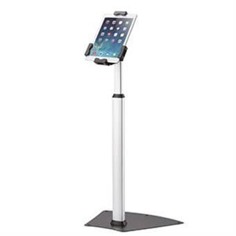 NewStar stojan na tablet / telefon nosnost 1kg, VESA 75x75 mm, stříbrný