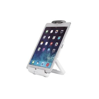 NewStar stojan na tablet / telefon nosnost 1kg, bílý