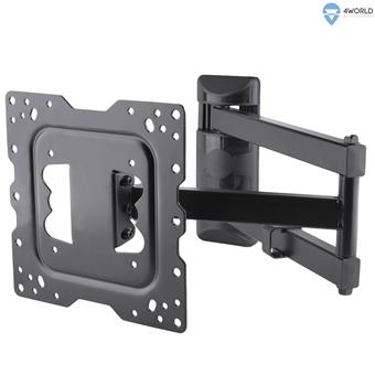 """4W Držák pro LCD 15-43"""" sklopný/otočný max.40kg"""