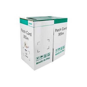 4World Patch kabel Cat5e FTP 305m drát Gray