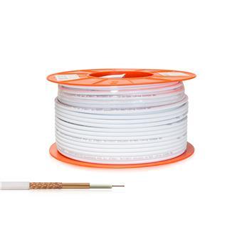 Kabel koaxial AB RG6CU Profi 100m roll