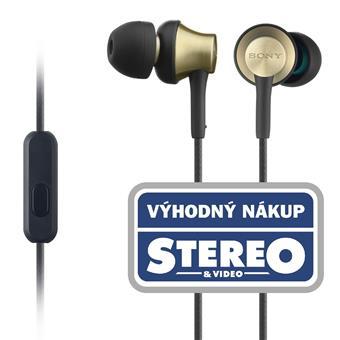 SONY sluchátka MDR-EX650AP, handsfree