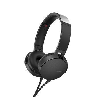 SONY Sluchátka EXTRA  BASS MDR-XB550AP,černá