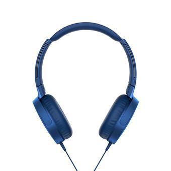 SONY Sluchátka EXTRA  BASS MDR-XB550AP,modrá