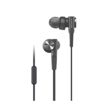 SONY sluchátka MDR-XB55AP, černá