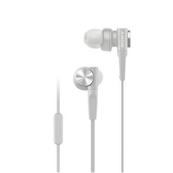 SONY sluchátka MDR-XB55AP, bílá