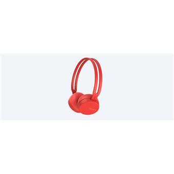SONY sluchátka WHCH400R.CE7 bezdr.,červená